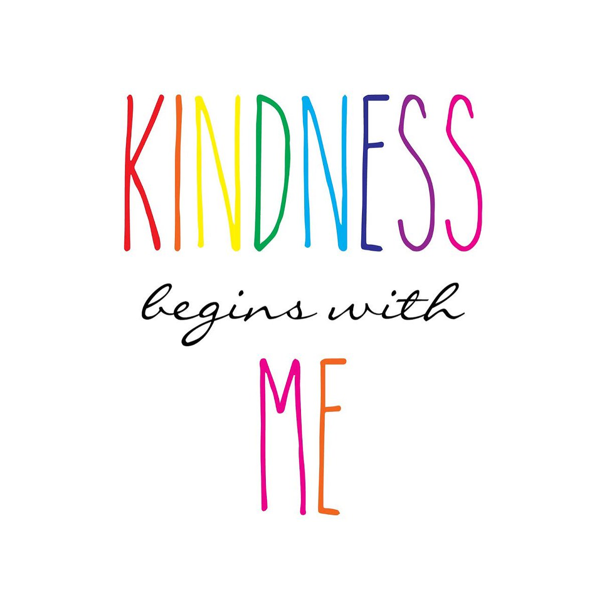 ...I then choose once again to discover more deeply how to be kind to myself ... and therefor to others.  #lovewins https://t.co/Zjpf5ZhaK3