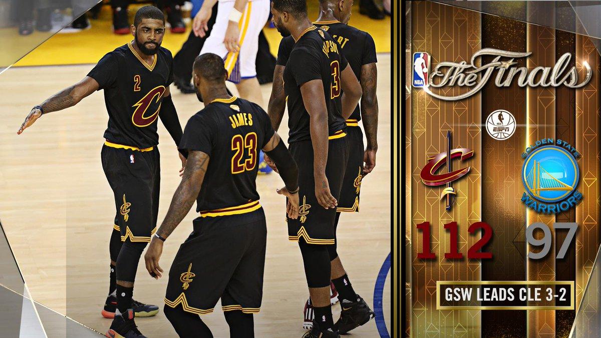Los Cavaliers llevan las finales al #Game6