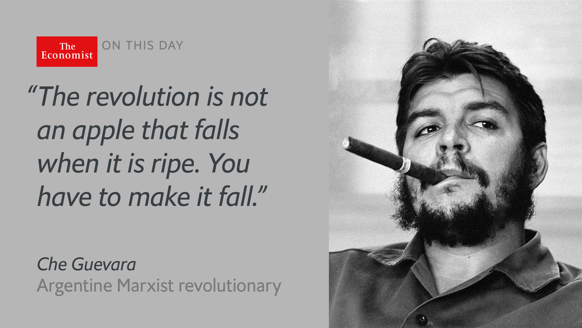 b724a2953e008 ernesto che guevara was born onthisday 1928 what explains his extraordinary  appeal