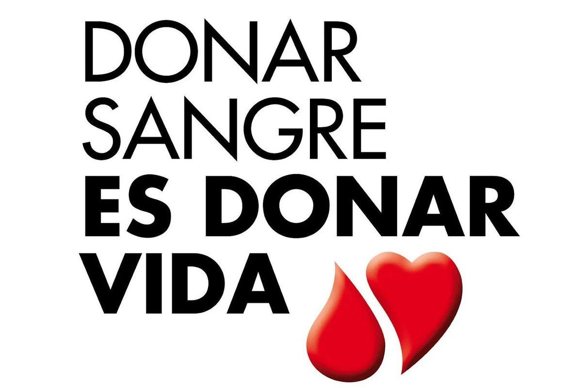 Hoy es el día de muchos de nosotros: el #DíaMundialdelDonantedeSangre. #DonarSalvaVidas https://t.co/vNejXJtJUB
