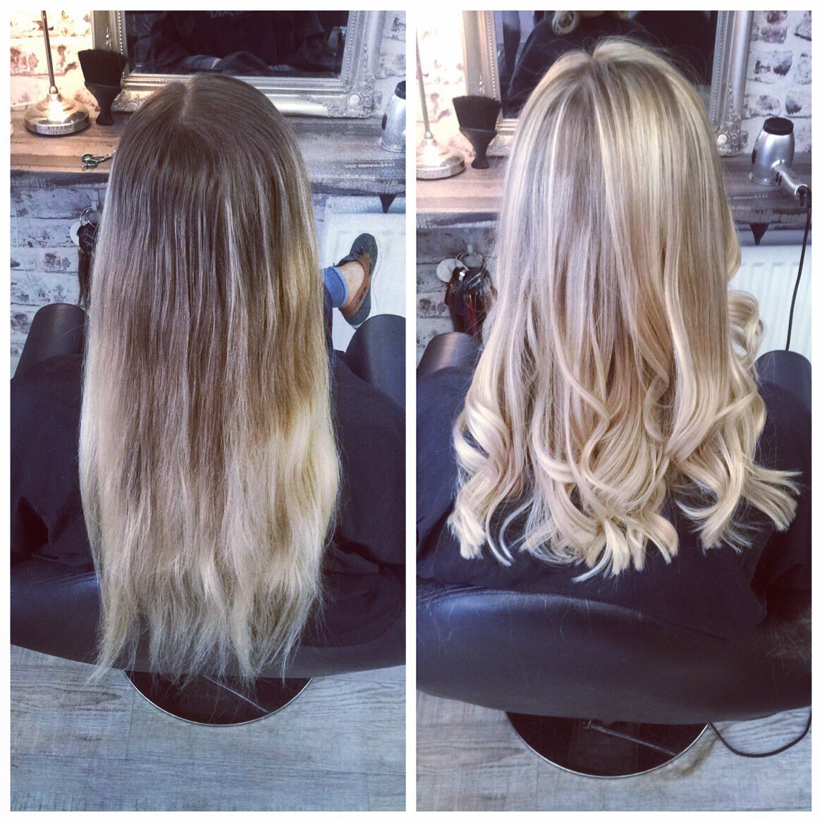 Laura Mcnaul On Twitter Before And After A Full Head Of Highlights
