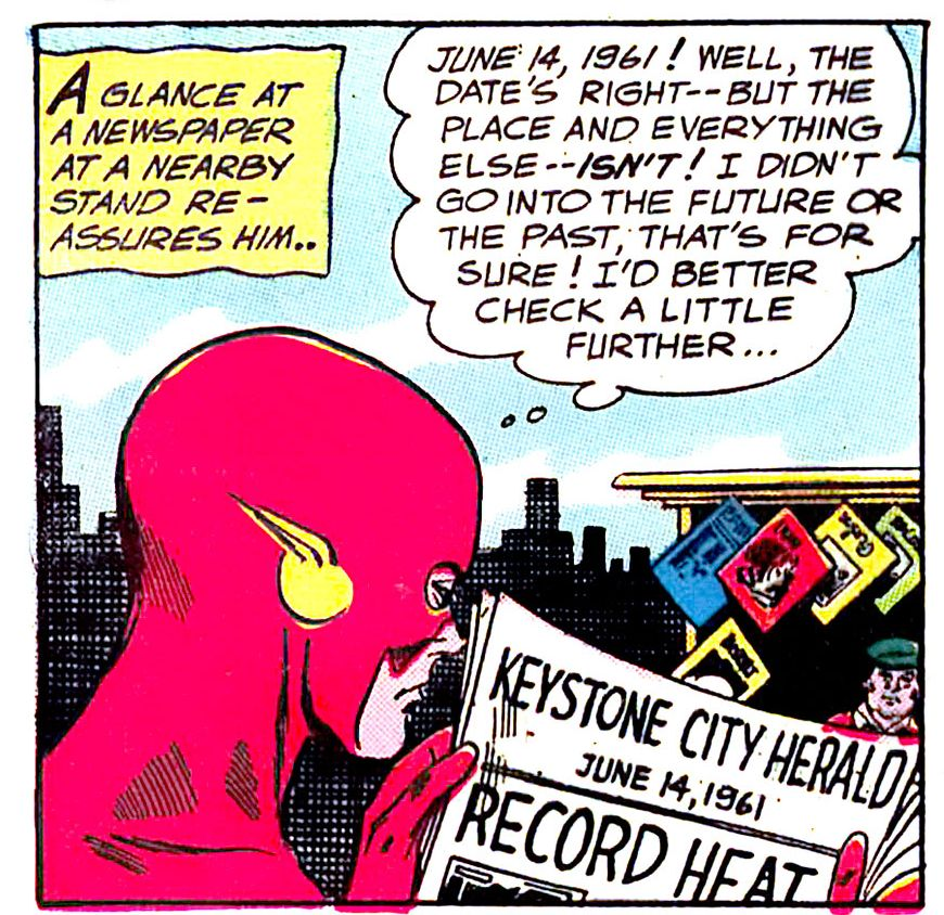 55 years ago today: The Flash discovers Earth-2 and the Multiverse. https://t.co/I1afI7RxKl