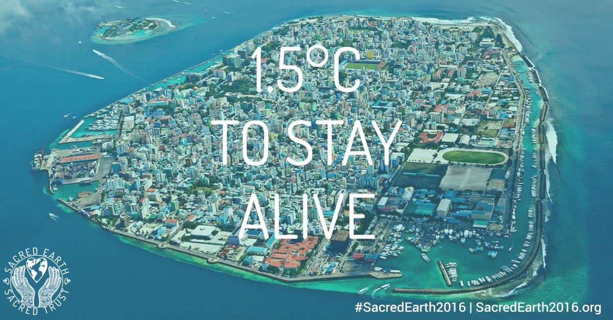Join #SacredEarth2016 this week to continue the #1o5C momentum https://t.co/DrGqG9ALAD #ParisAgreement https://t.co/JqvA7SkNO3