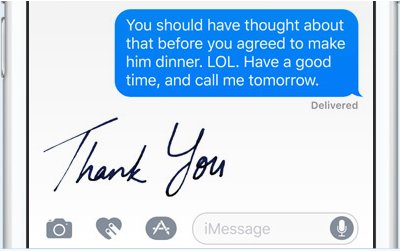 Apple hints the #iPhone7 might let users handwrite iMessages thanks to #iOS10 https://t.co/f1xgUo0Fq3 https://t.co/GnJ00fnADm