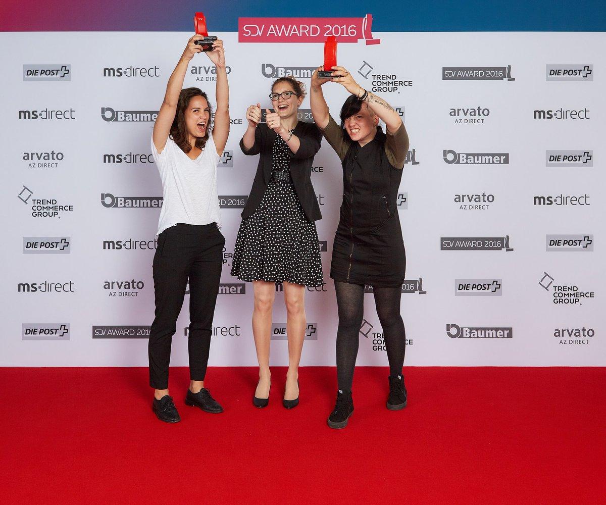 GEWONNEN! Unsere Juniors Anja, Nadine und Nicole gewinnen den SDV-Junior Award. #sdvaward https://t.co/U9tSICzUES https://t.co/wpAJZZdS7B