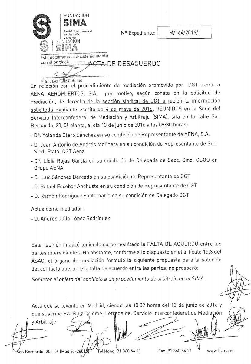 Aena oculta ante el SIMA las pruebas de la polémica convocatoria de empleo.
