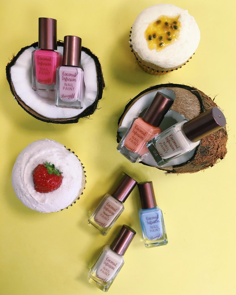 We're coco loco at @barrymcosmetics! Win our vegan cupcakes & the Coconut Infusion polishes! Simply retweet to enter https://t.co/BHXNnFMm9h