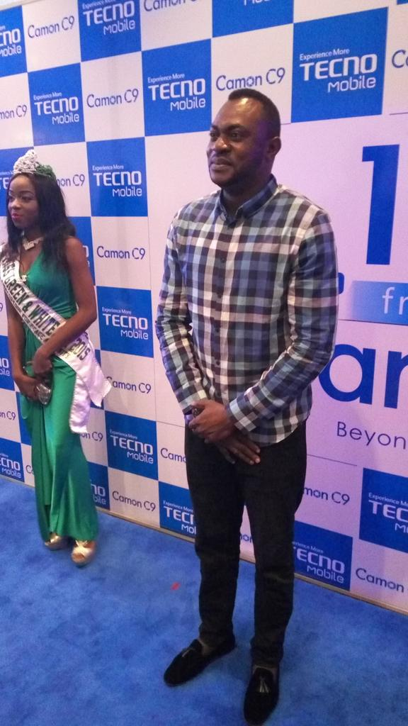 See who came around. I cant want to see Frank Donga at a launch too #CaptureMore #C9ja @TECNOMobileNG https://t.co/3gKiXy36p1