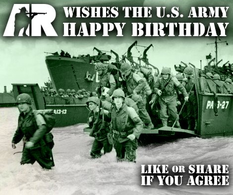 Happy 241st Birthday to the @USArmy from American Rifleman! #ArmyBday #USArmy @USArmyReserve https://t.co/BvG02iuatw