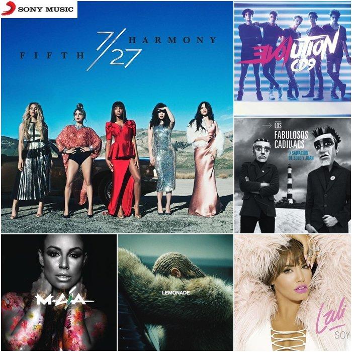 ¡YA están disponibles estos discos en Vzla! Búscalos en las principales discotiendas #LaliEsposito #CD9 #Beyonce https://t.co/Q6kEwKM3Pw