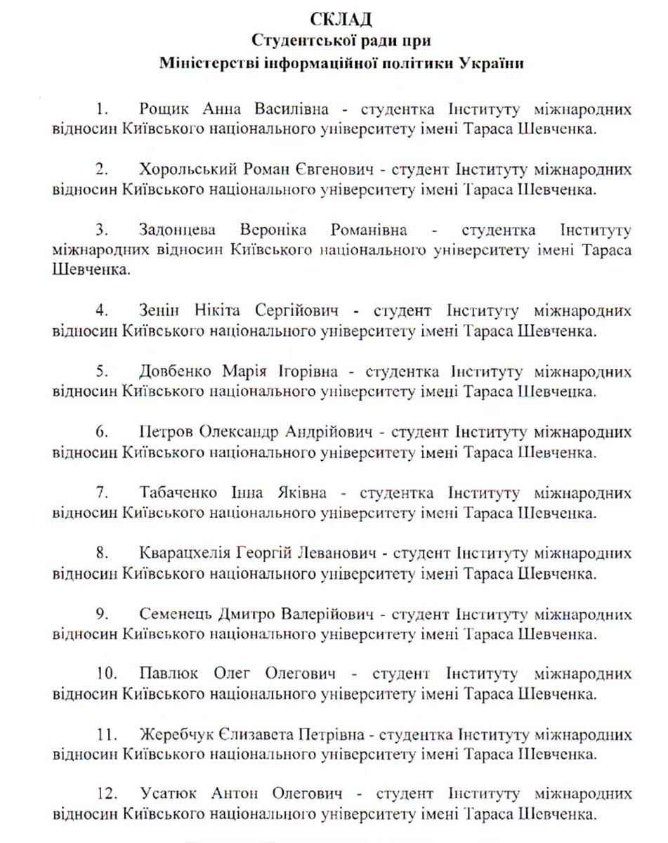 Кабмин уволил замминистра информполитики Попову - Цензор.НЕТ 1996