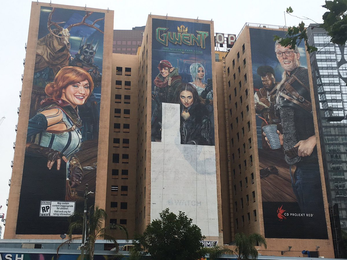 Image result for Gwent E3 Ad