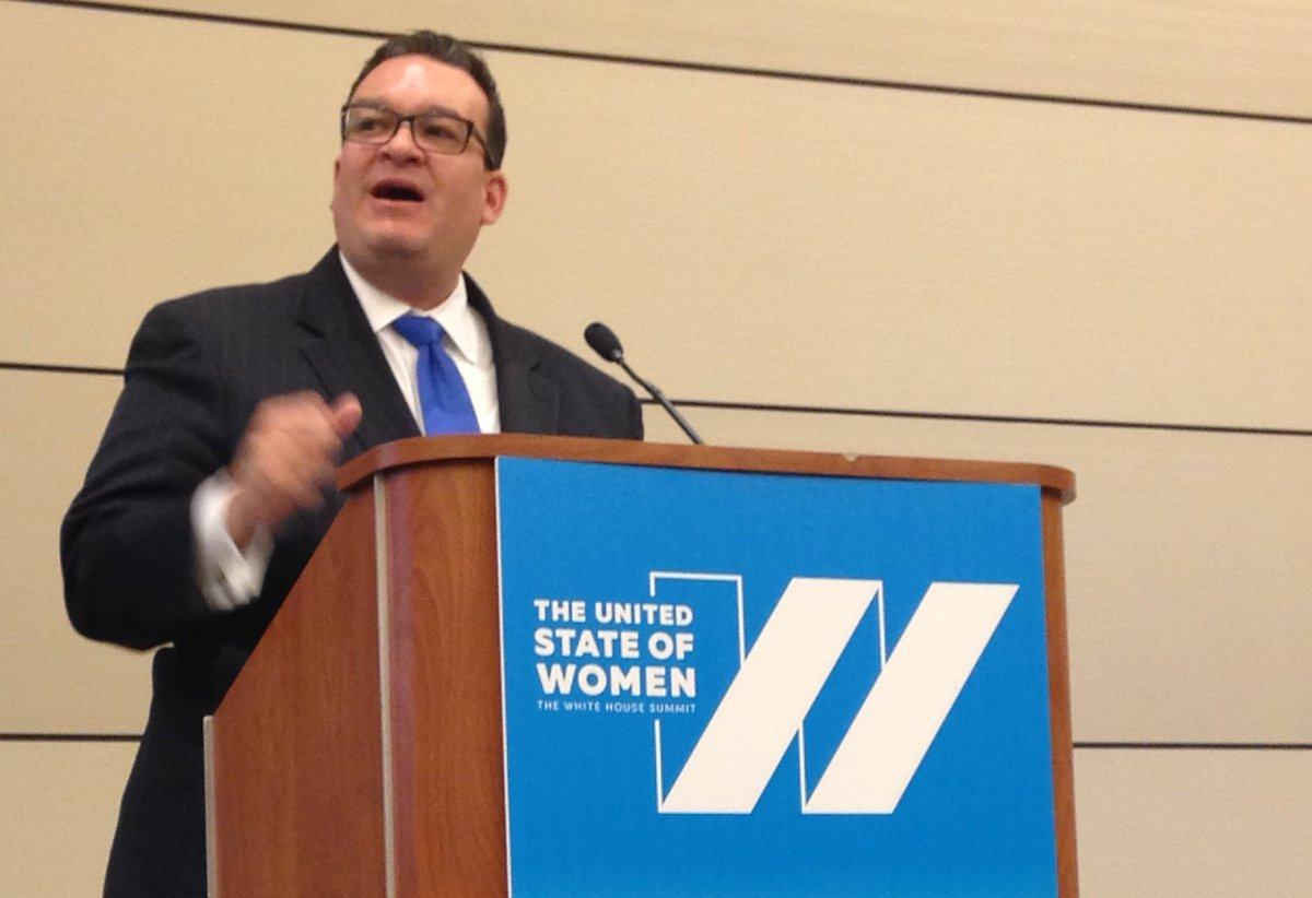"""There's grace and dignity in all of our work"" -@ACYFgov Commissioner Rafael López #StateOfWomen https://t.co/CZo8il90gx"