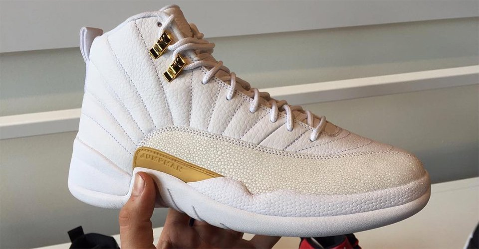8664cc3d1622 drake s white ovo air jordan 12s are expected to be dropping very soon .