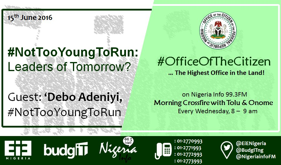 Thumbnail for #OfficeOfTheCitizen: #NotTooYoungToRun - Leaders of Tomorrow?