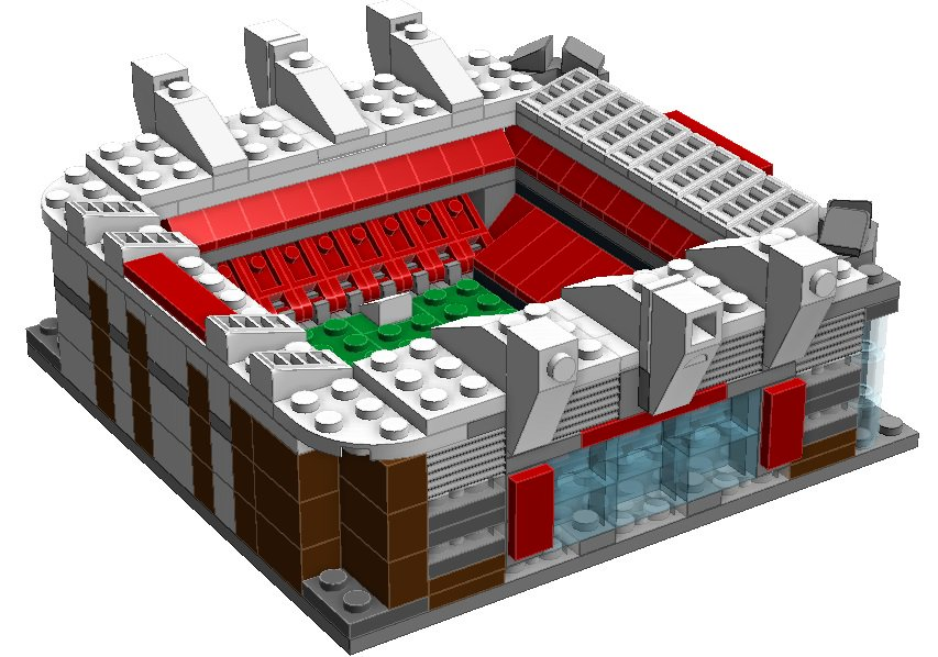 Block Stadiums On Twitter This Old Trafford Model Has 378 Lego