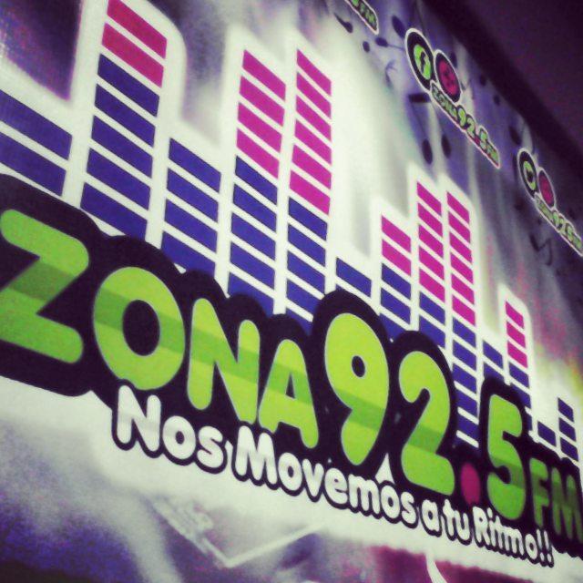 Somos #Zona925fm la emisora que se mueve...