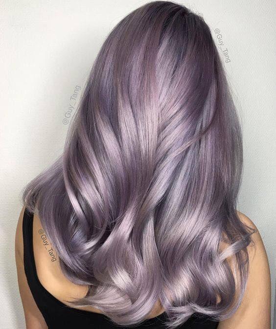 I think I've found my next hair colour. Going to add some purple to my grey #newhaircolor #lovegreyhair #inspirationpic.twitter.com/rORelj4E6u