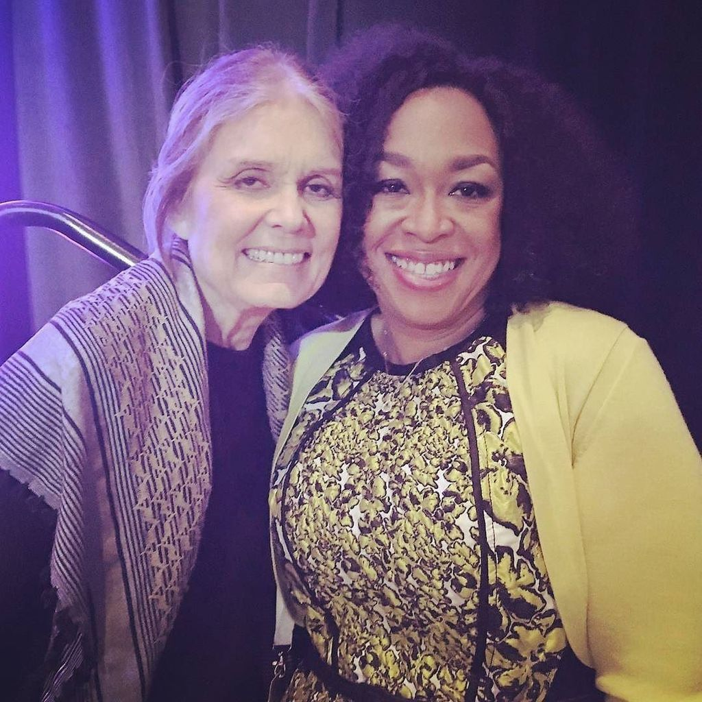 Me and @gloriasteinem at the United State of Women Summit in Washington D.C. today!  #Stat… https://t.co/ig6RL7LymS https://t.co/DLwn1Pd2c8