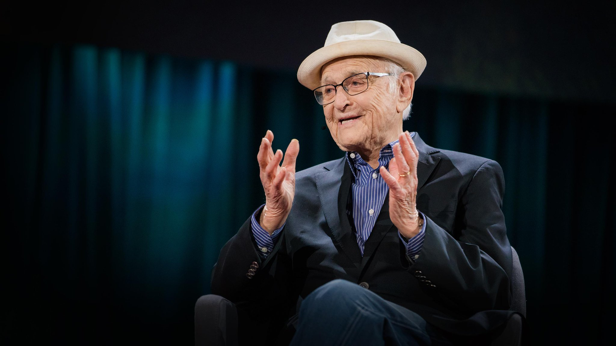 ted talks on twitter norman lear on living a life of meaning. Black Bedroom Furniture Sets. Home Design Ideas