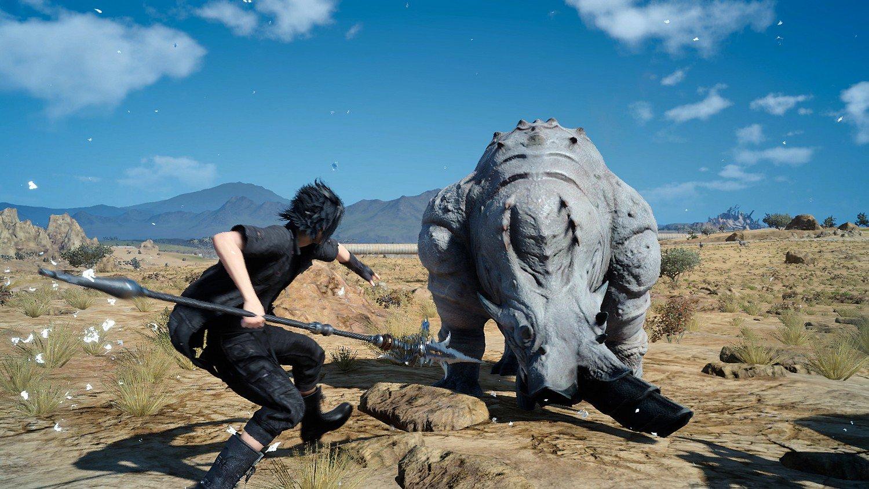 Final Fantasy XV 'Wait Mode' Unveiled 1