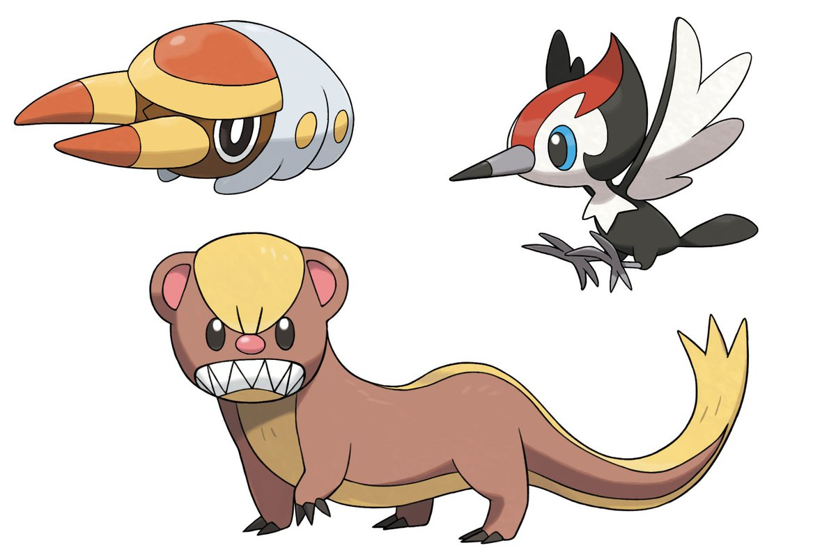 Meet Yungoos Grubbin And Pikipek Three New Pokemon Joining The