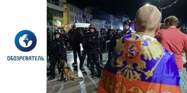 Французская полиция задержала российских журналистов, фиксировавших драку между болельщиками на Евро-2016 - Цензор.НЕТ 7206