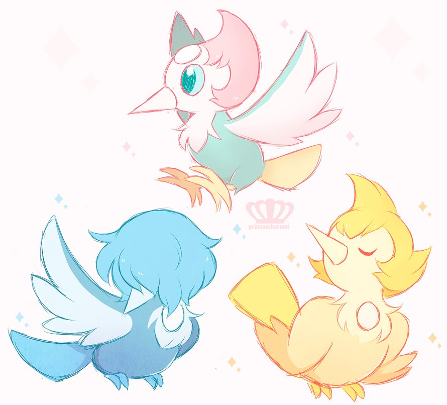 """a flock of Pikipearls !!"""
