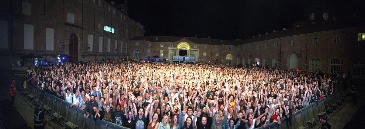 Thank you Torino! #moderat #modeselektor #apparat #teambadkingdom #club2club https://t.co/CYNtGXtct1