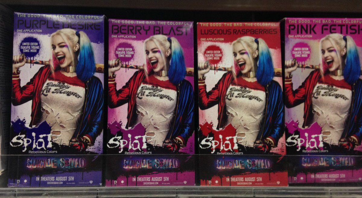 Best Of Harley On Twitter Saw Some Of The Harley Splat Hair Dye At Walmart Tonight