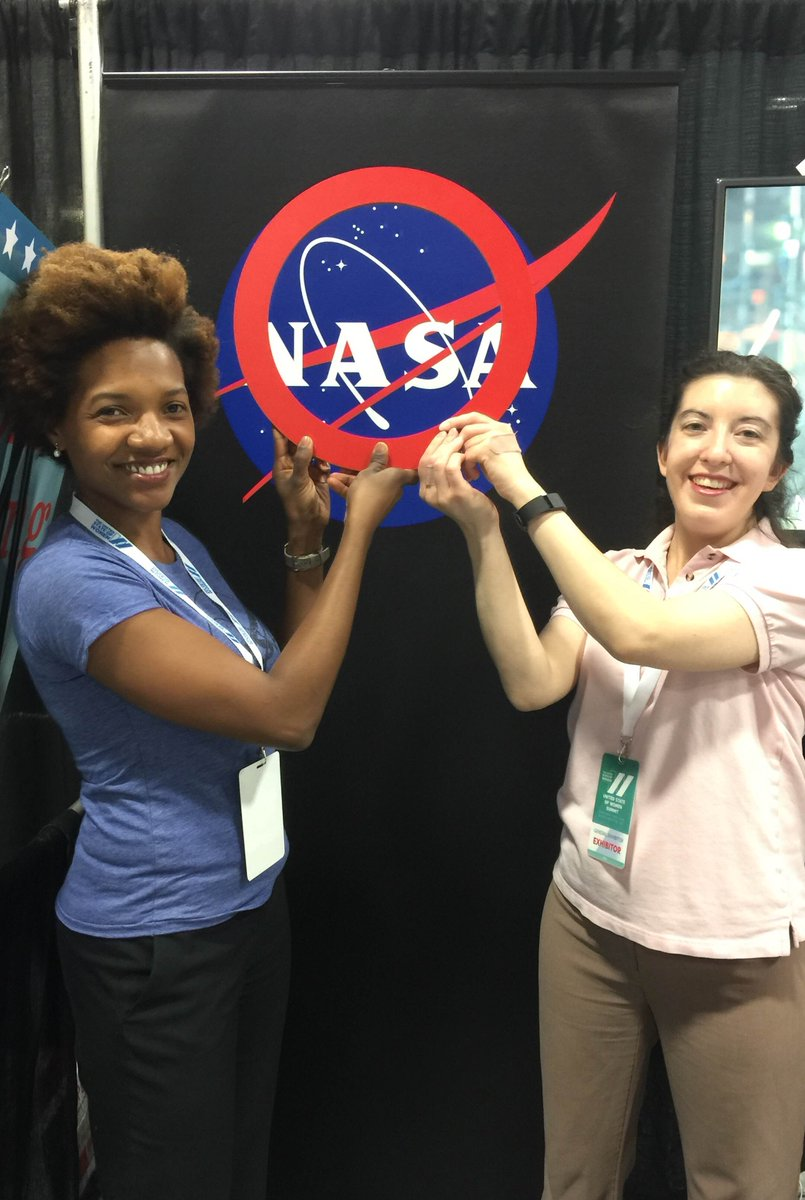 The women of @NASA are global citizens too!  #NASA #StateofWomen #shOwup https://t.co/Ee9prfU0Yc