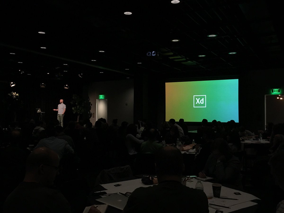 Yay @MrTalin presenting @AdobeXD Layers sneak at @bringyourlayers #layersclub #inception https://t.co/Mph7Hg2v9g