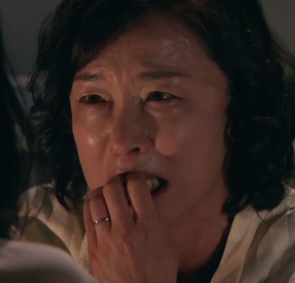 泣き顔のキムラ緑子