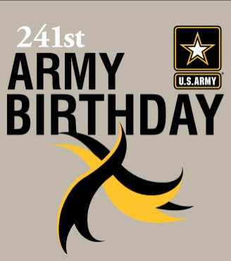 Happy 241ST Army Birthday! The American Soldier -- Always Ready, Always Leading. https://t.co/rpo3IpfSAO