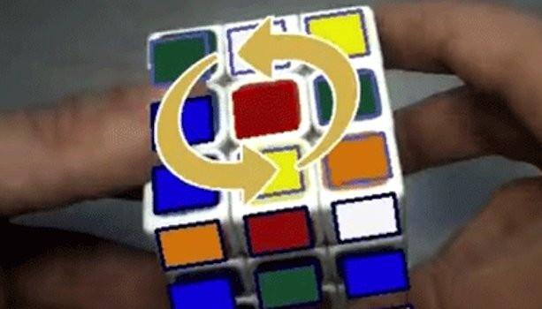 Augmented Reality Allows Anyone to Master a Rubik's Cube
