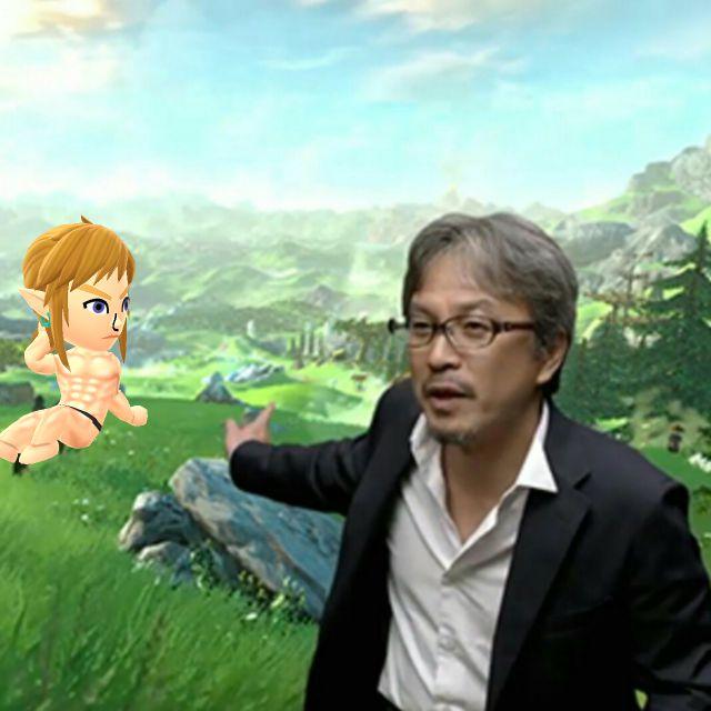 Wow, the new Legend of Zelda looks great. #Miitomo #Miifoto https://t.co/4q0MGFZJvz https://t.co/U55YWy41PG
