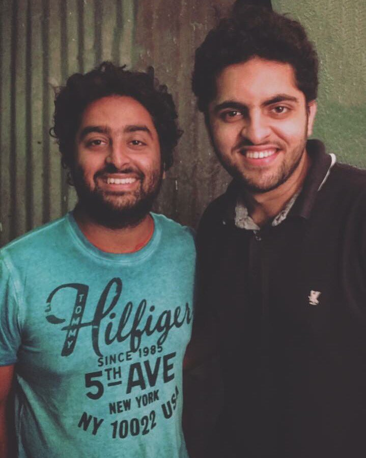 Recorded the #Sultan of our Film Music industry, the incredibly gifted @raiisonai! #BeingTheBetterHuman #ArijitSinghpic.twitter.com/1mjimzy9C7