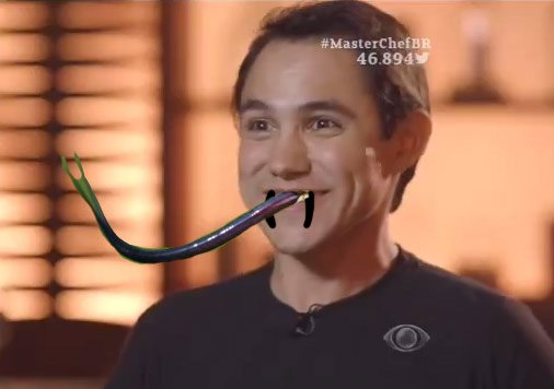 Língua de cobra este Pedro do #MasterChefBR  https://t.co/ZUhOlBHrao