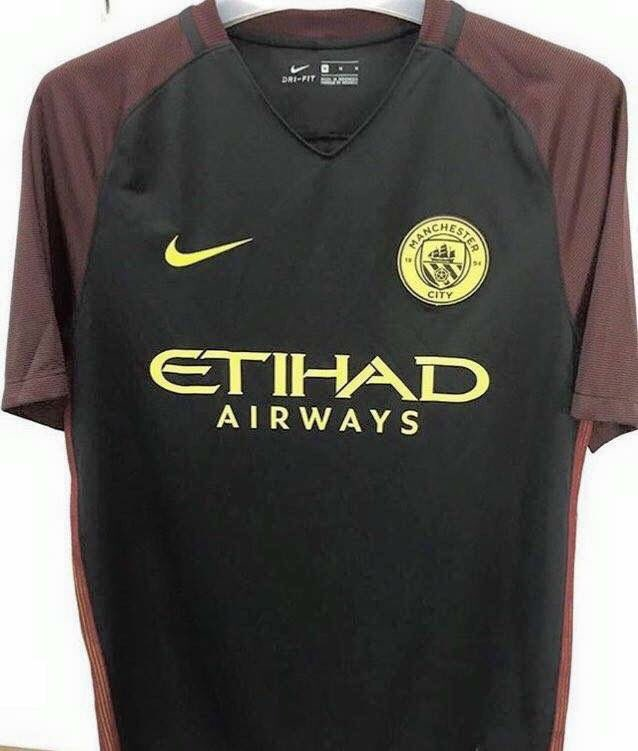 Pic: Manchester City could have a nasty look away shirt next season