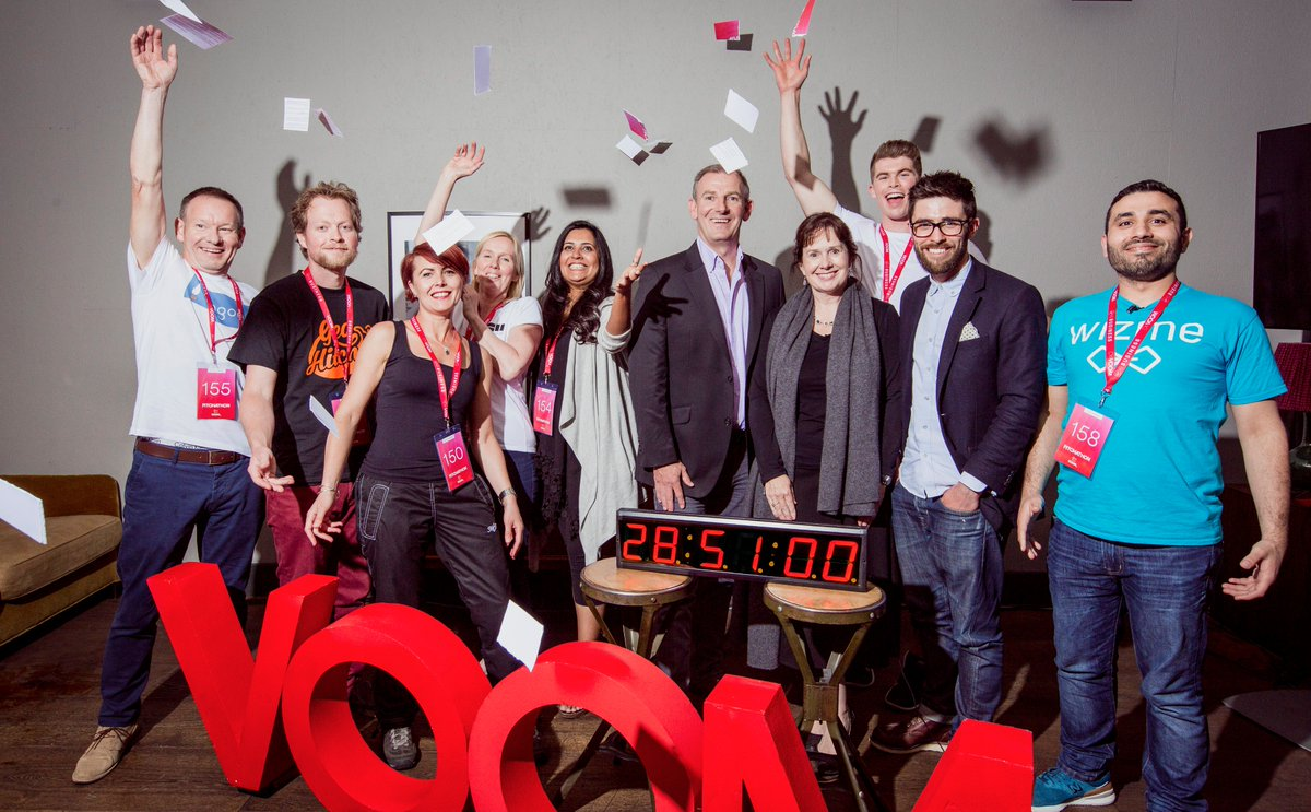 We did it! 158 #VOOM pitches, 28 hours, 51 minutes and ONE GUINNESS WORLD RECORD @GWR https://t.co/9uUJ12OT50 https://t.co/Iaoz3bNXmQ