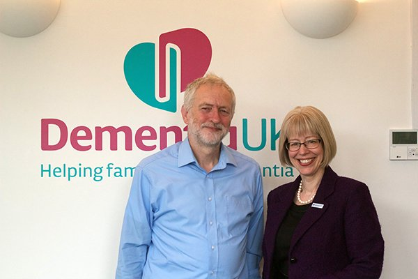 We're delighted that our local MP @jeremycorbyn joined us today to discuss the role of the specialist dementia nurse https://t.co/C0O5yfWnY0