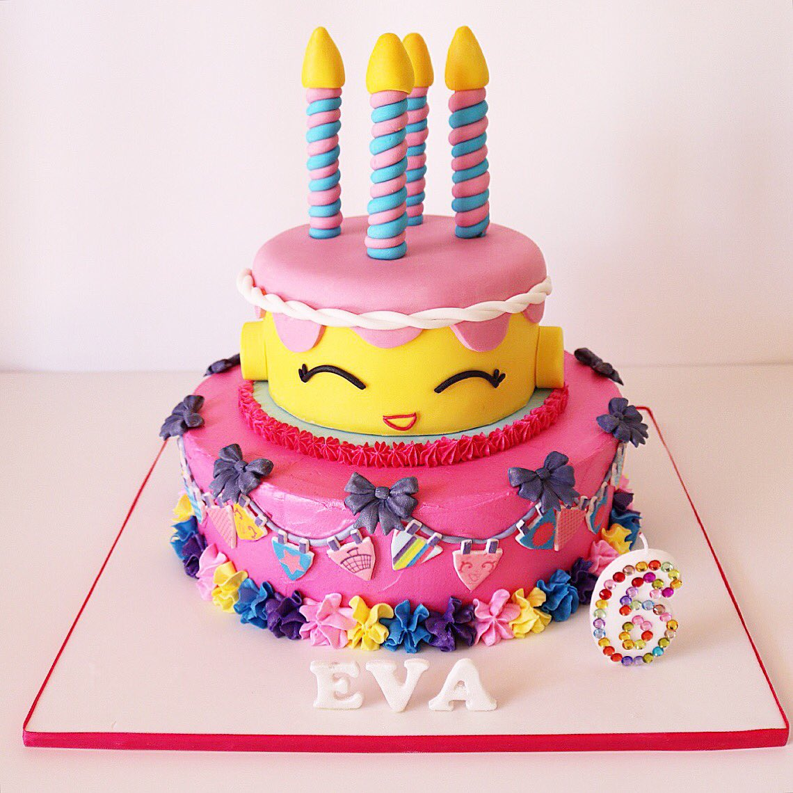 Buttercreme Lane on Twitter Shopkins Birthday Cake just for Eva