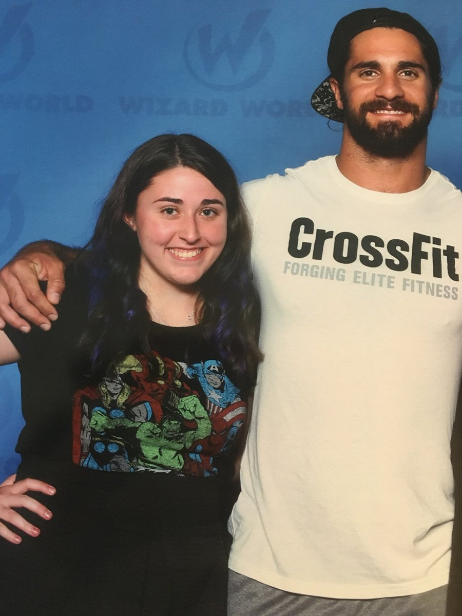 Seth Rollins On Twitter Fan Photos From Seths Meet And Greet