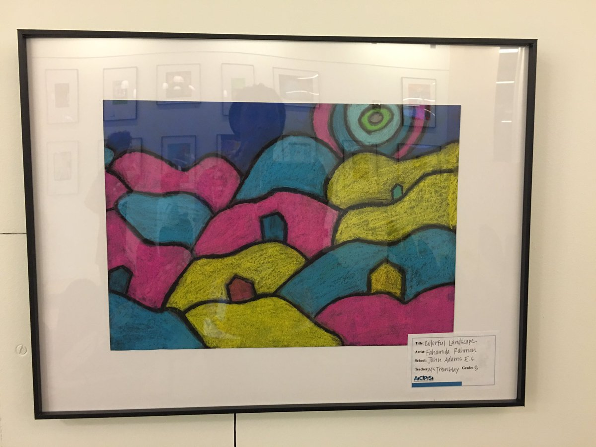Thumbnail for Students Honored at Art Showcase Celebrating Installation of Their Artwork in the School Board Meeting Room