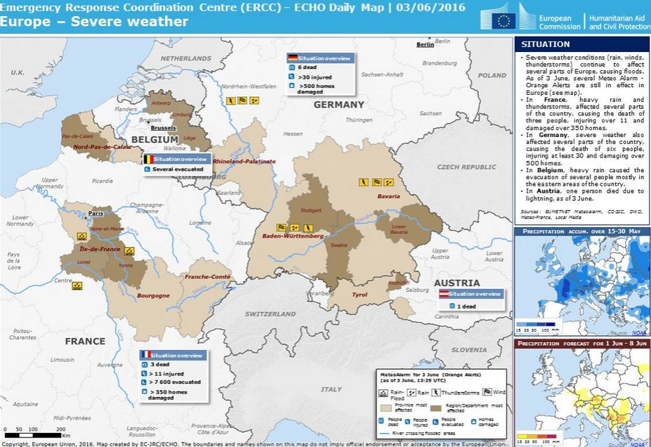 Calais Europe Map.European Commission On Twitter Severe Weather Incl