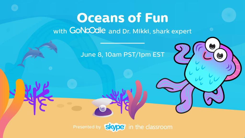 We're teaming up w/ @GoNoodle this #WorldsOceanDay! Join us for a LIVE underwater adventure https://t.co/XxMBzCtNfk https://t.co/xEfm78dRME