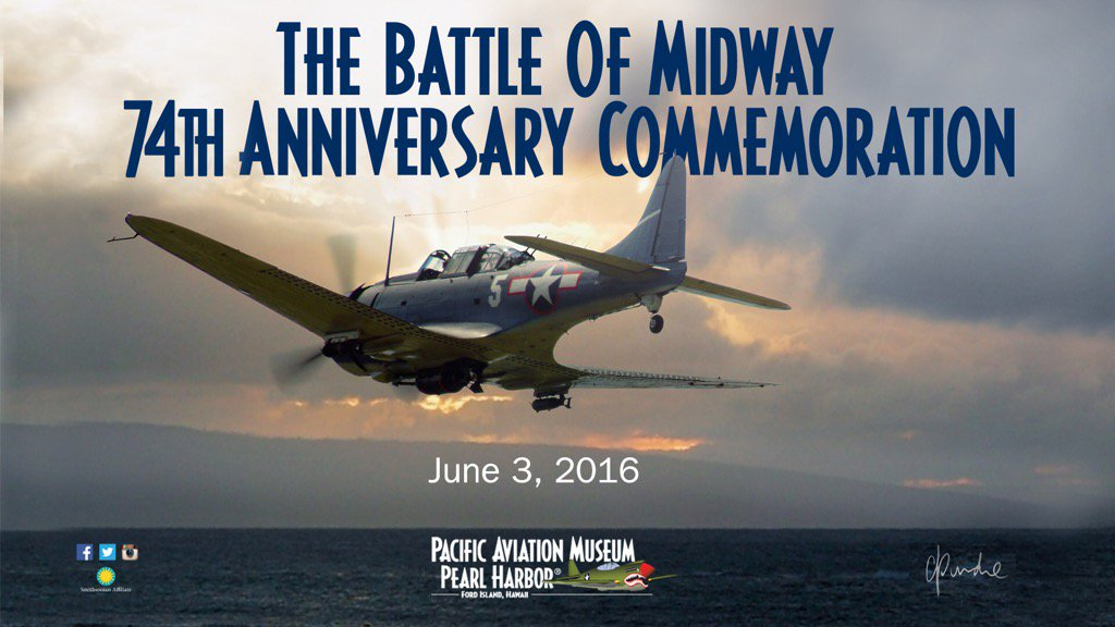 Today, we remember #BattleOfMidway the turning point in the war in the Pacific. Those brave men and pilots. #Midway https://t.co/E0P7kvHXk0