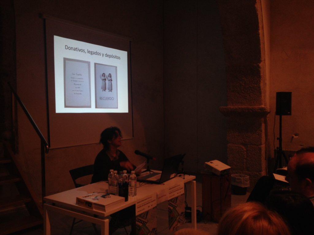 'El coleccionista proveedor importante de documentos singulares'Ana Barbazàn Biblio Dep.Pontevedra #IIIXorBiblioEspe https://t.co/l76i8qx9RP
