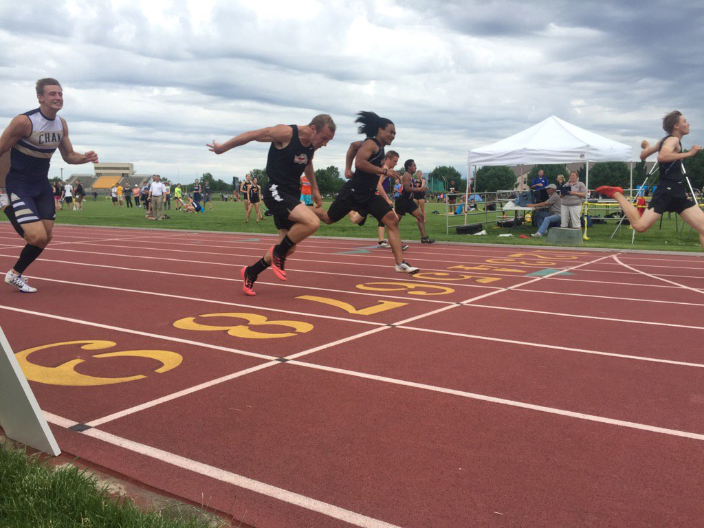 Chanstormcc On Twitter Alex Spillum Places 5th In 100m Section