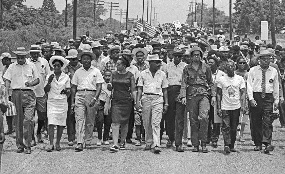 Image of the #MarchAgainstFear by BobFitch @StanfordArchive, June 26, 1966 https://t.co/xO0altuYox